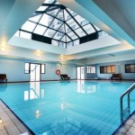 Indoor swimming pool Copthorne Hotel